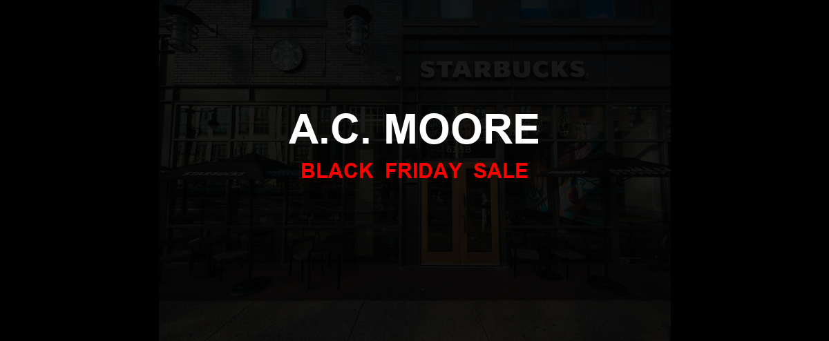 A.C. Moore Black Friday 2020 Ad, Sales [20+ Deals]
