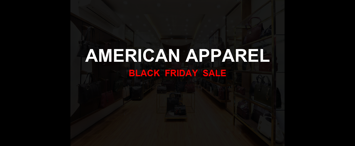 American Apparel Christmas 2020 Ad, Sales [10+ Deals]
