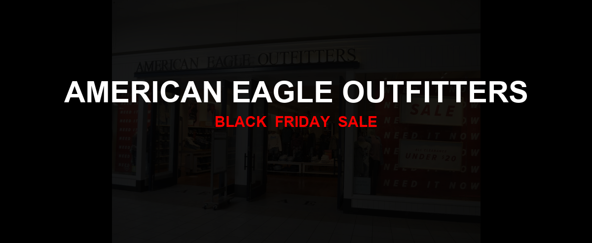American Eagle Outfitters Black Friday 2020 Ad, Sales [27+ Deals]