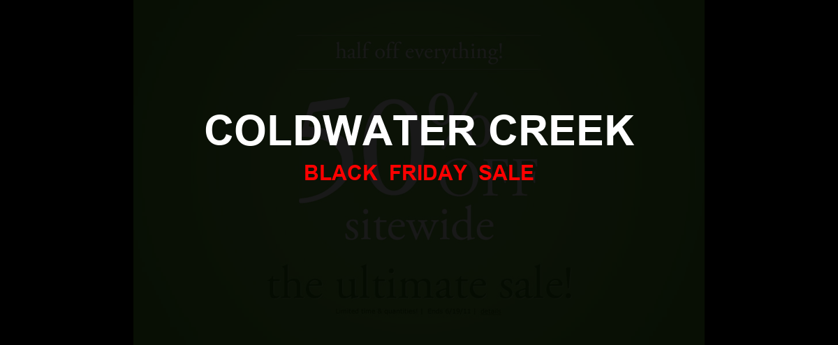 Coldwater Creek Christmas 2020 Ad, Sales [13+ Deals]