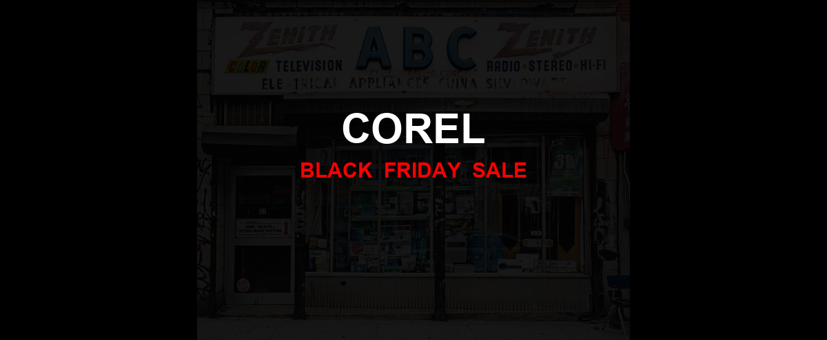 Corel [GJ_EVENT_WITH_YEAR] Ad, Sales [20+ Deals]