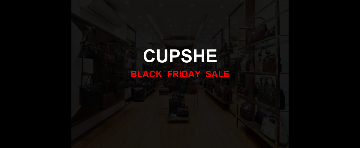 Cupshe Black Friday 2020 Ad, Sales [27+ Deals]