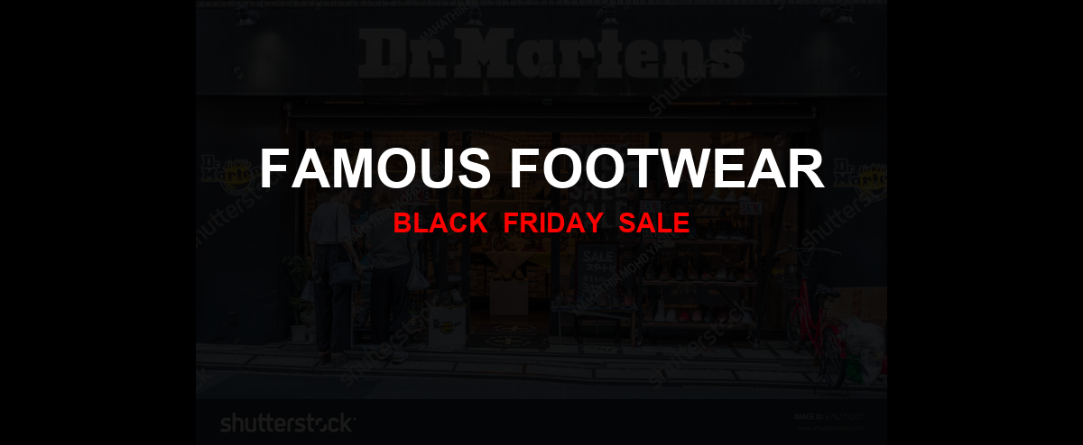 Famous Footwear Black Friday 2020 Ad, Sales [10+ Deals]