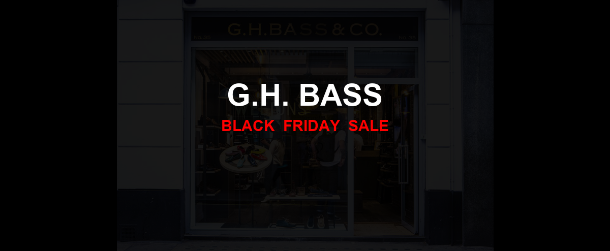 G.H. Bass [GJ_EVENT_WITH_YEAR] Ad, Sales [14+ Deals]