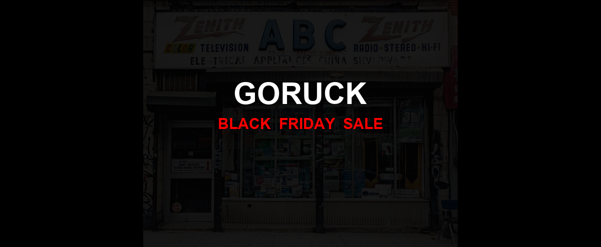 GORUCK [GJ_EVENT_WITH_YEAR] Ad, Sales [10+ Deals]
