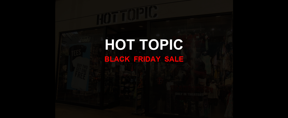Hot Topic Christmas 2020 Ad, Sales [33+ Deals]