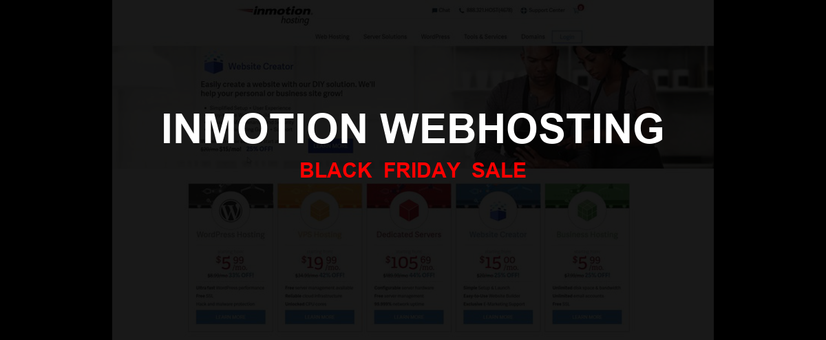 InMotion Webhosting Black Friday 2020 Ad, Sales [50+ Deals]
