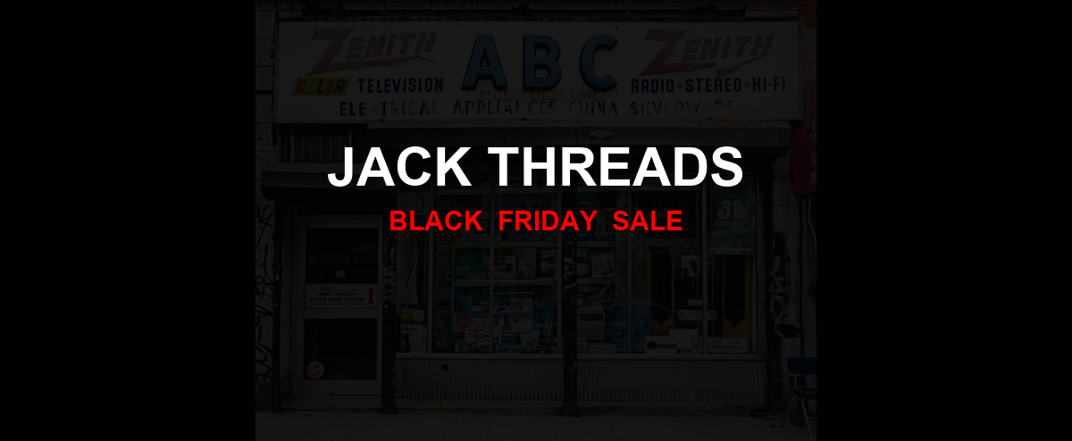 Jack Threads Black Friday 2020 Ad, Sales [10+ Deals]