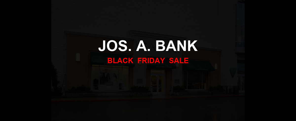 Jos. A. Bank Black Friday 2020 Ad, Sales [20+ Deals]