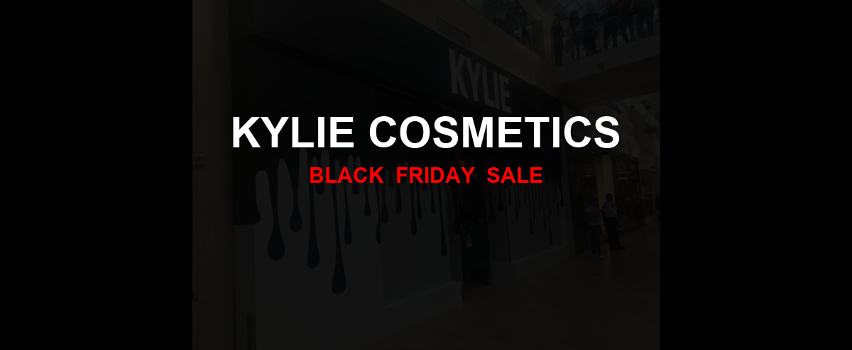 Kylie Cosmetics Black Friday 2020 Ad, Sales [20+ Deals]