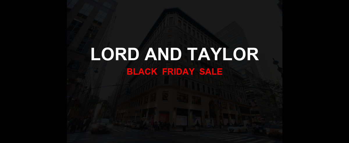 Lord and Taylor Black Friday 2020 Ad, Sales [20+ Deals]