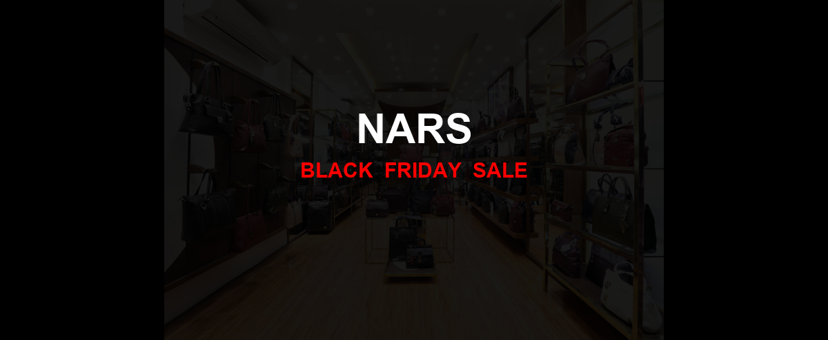 Nars [GJ_EVENT_WITH_YEAR] Ad, Sales [13+ Deals]