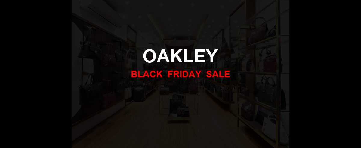 Oakley Black Friday 2020 Ad, Sales [20+ Deals]