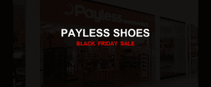 Payless Shoes [GJ_EVENT_WITH_YEAR] Ad, Sales [13+ Deals]