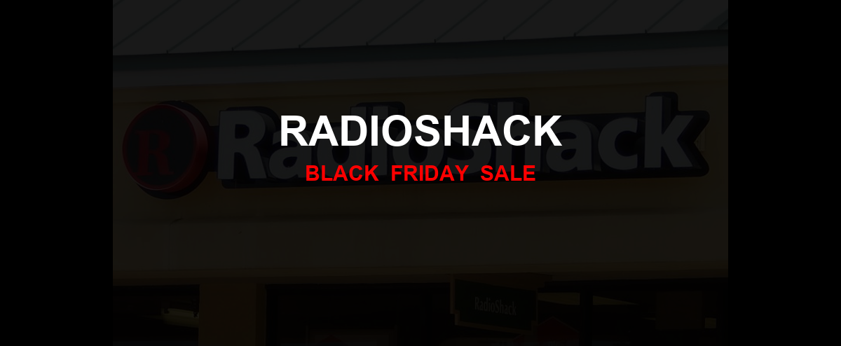 RadioShack Christmas 2020 Ad, Sales [14+ Deals]