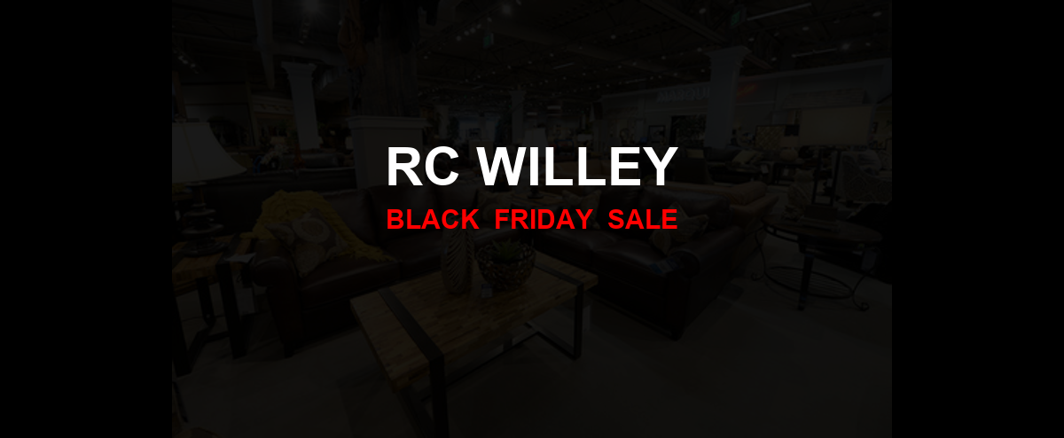 RC Willey Black Friday 2020 Ad, Sales [25+ Deals]
