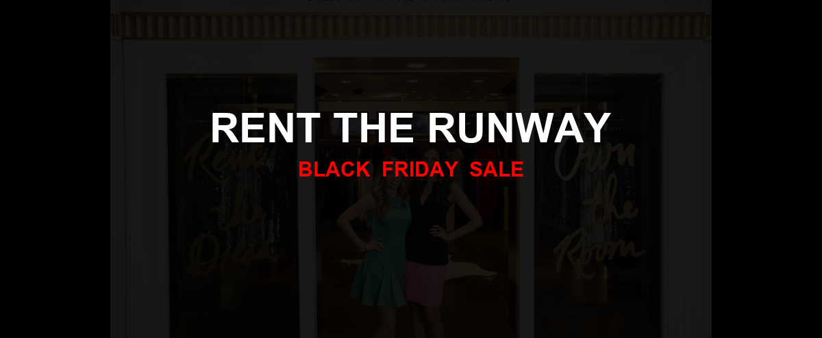 Rent The Runway Black Friday 2020 Ad, Sales [25+ Deals]