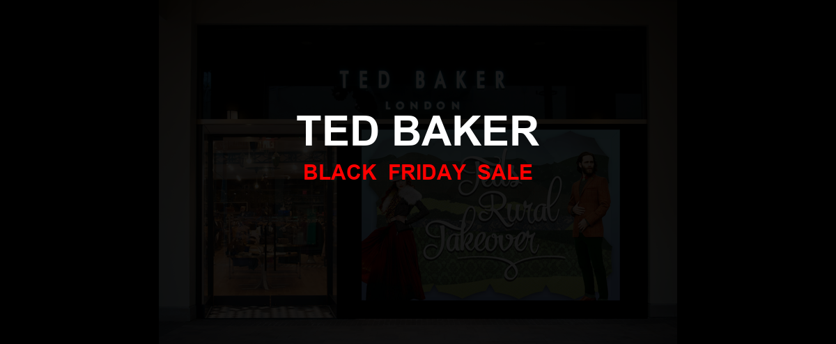 Ted Baker Black Friday 2020 Ad, Sales [25+ Deals]