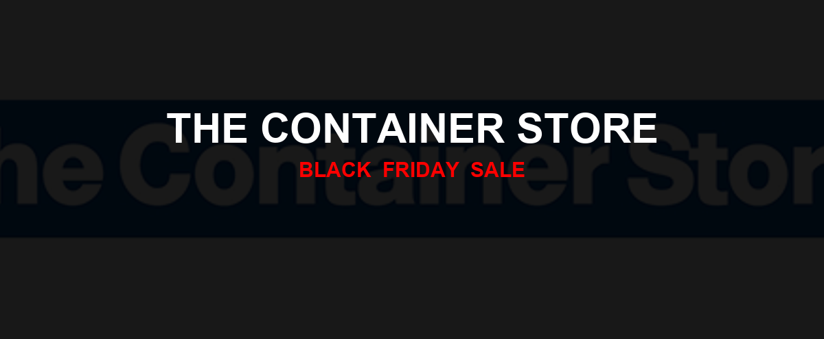 The Container Store Black Friday 2020 Ad, Sales [17+ Deals]