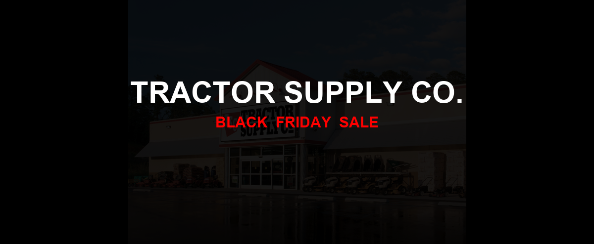 Tractor Supply Co. Christmas 2020 Ad, Sales [20+ Deals]