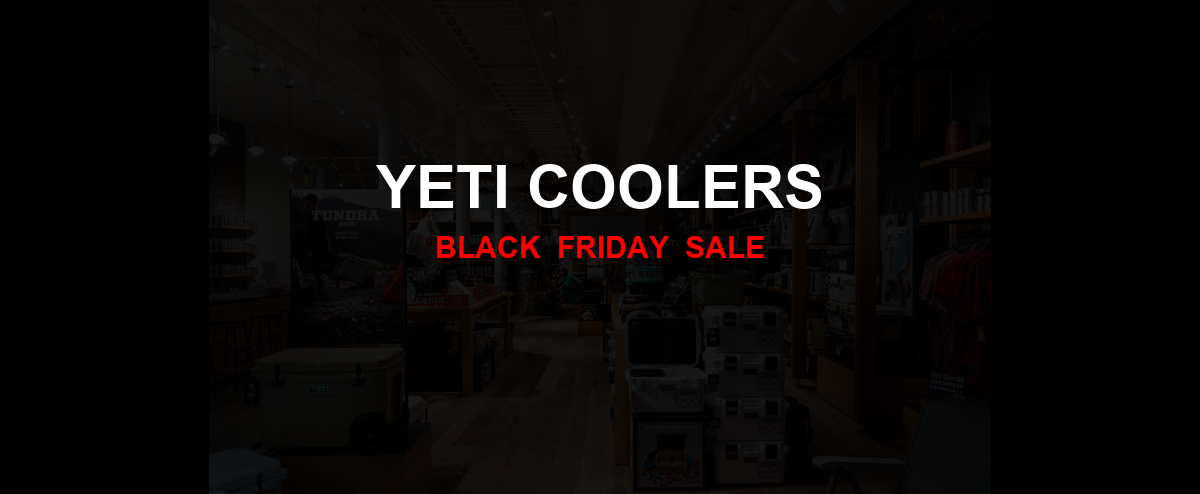Yeti Coolers Black Friday 2020 Ad, Sales [20+ Deals]