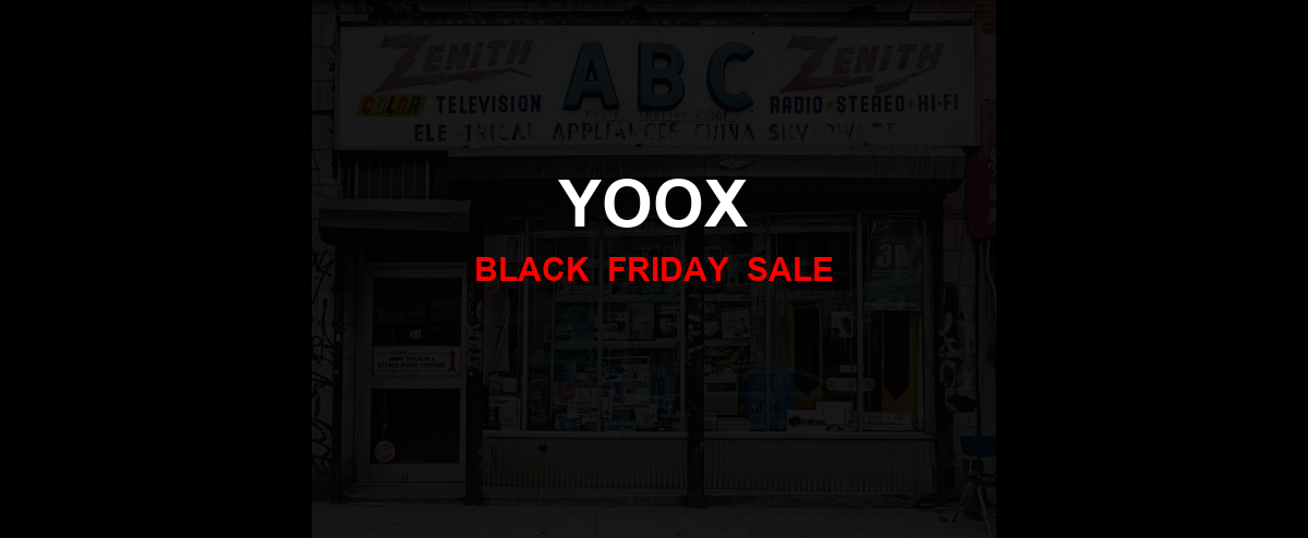 Yoox Christmas 2020 Ad, Sales [25+ Deals]